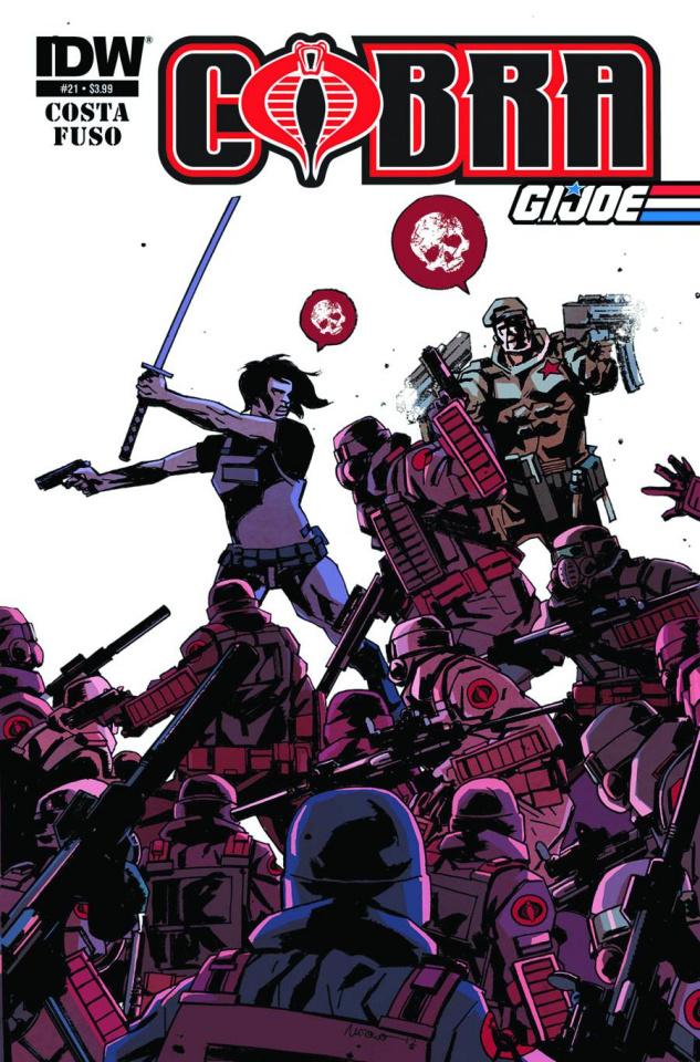 Cobra #21 (Eisma Cover)