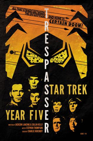Star Trek: Year Five #7 (10 Copy Lendl Cover)