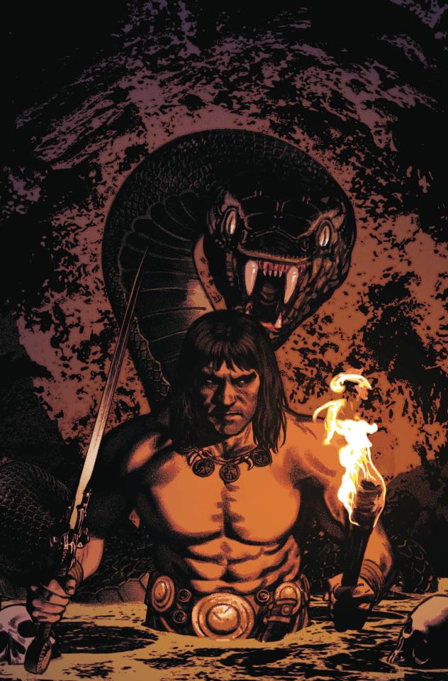Conan the Barbarian #4 (Smallwood Cover)