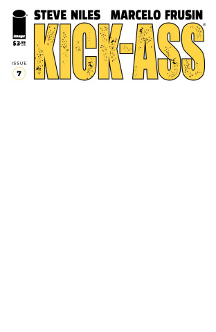 Kick-Ass #7 (Blank Cover)
