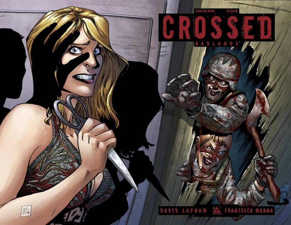 Crossed: Badlands #66 (Wrap Cover)