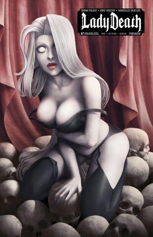 Lady Death Premiere (New York Comic Con Cover)