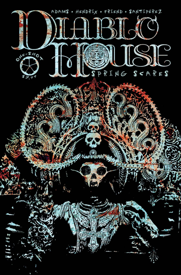 Diablo House: Spring Scares (Friend Cover)