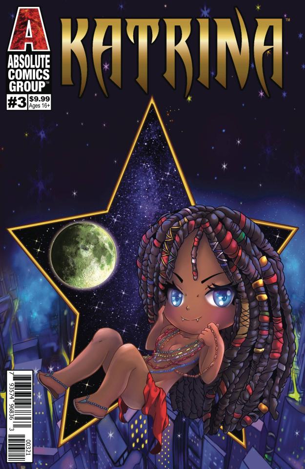 Katrina #3 (Embossed Foil Powell Cover)