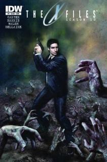 The X-Files, Season 10 #4 (Subscription Cover)