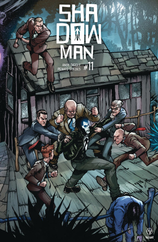Shadowman #11 (20 Copy Interlocking Lee Cover)