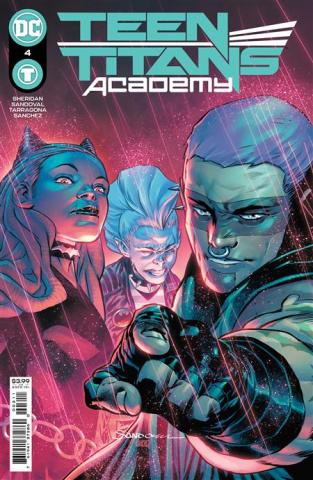 Teen Titans Academy #4 (Rafa Sandoval Cover)