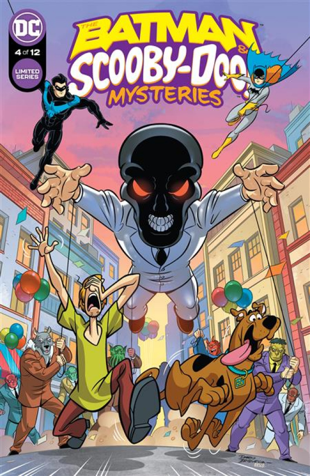 The Batman & Scooby-Doo! Mysteries #4