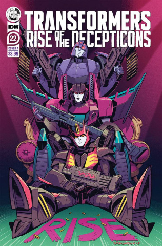 The Transformers #22 (Malkova Cover)