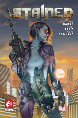Stained #1 (Morris Cover)
