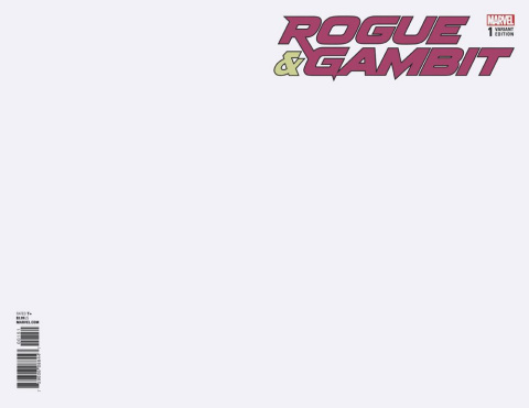Rogue & Gambit #1 (Blank Cover)