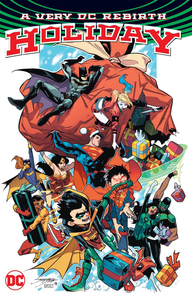 A Very DC Universe Rebirth Christmas