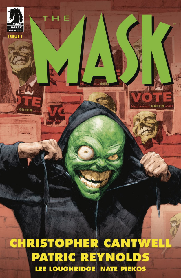 The Mask: I Pledge Allegiance to the Mask #1 (Reynold Cover)
