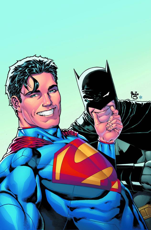 Batman / Superman #14 (Selfie Cover)