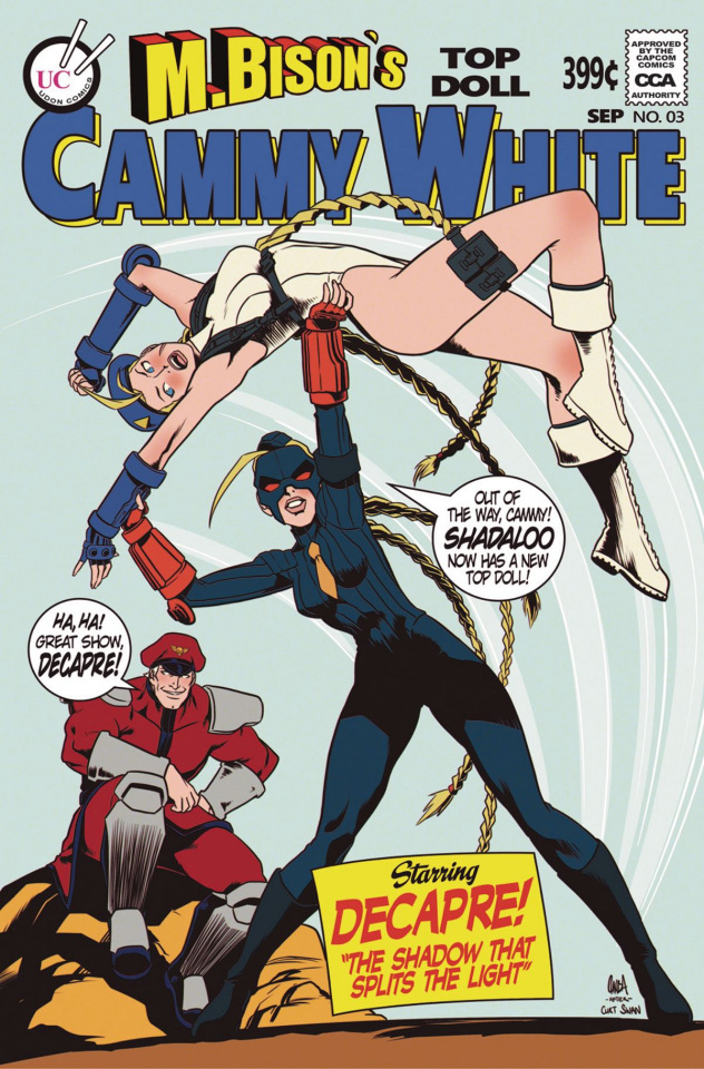 Street Fighter Legends: Cammy #3 (10 Copy Cover)