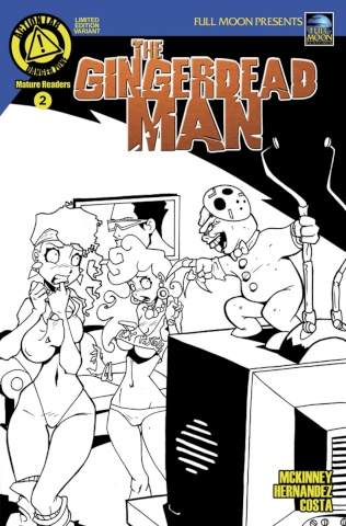 The Gingerdead Man #2 (Mendoza Cover)