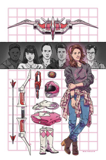 Mighty Morphin' Power Rangers: Pink #5 ( 20 Copy Reinwand Cover)