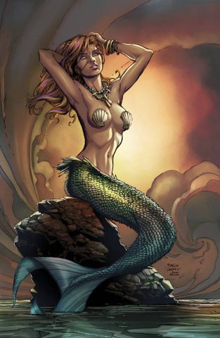 Grimm Fairy Tales: The Little Mermaid #1 (Super Rare Finch Cover)