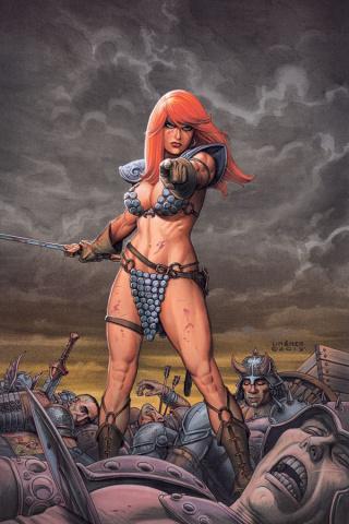 Red Sonja #1 (Joseph Linsner Virgin Cover)