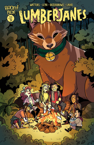 Lumberjanes #51 (Subscription Fish Cover)