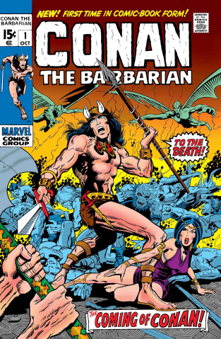 Conan the Barbarian #1 (True Believers)
