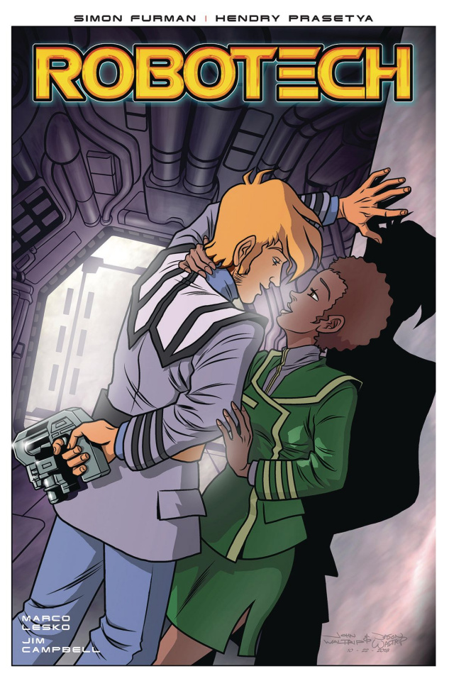 Robotech #17 (Waltrip Bros. Cover)