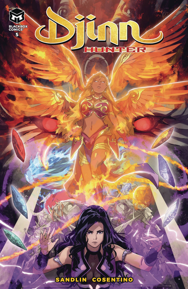 Djinn Hunter #5 (Cosentino Cover)