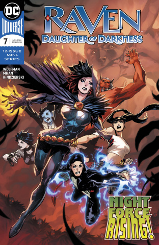 Raven: Daughter of Darkness #7