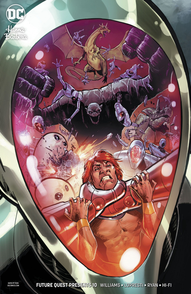 Future Quest Presents #10 (Variant Cover)
