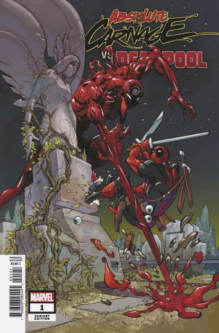 Absolute Carnage vs. Deadpool #1 (Ferry Cover)