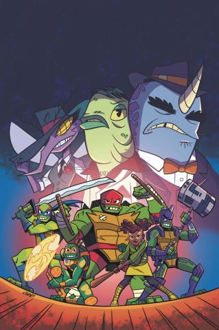 Rise of the Teenage Mutant Ninja Turtles: Sound Off #1 (Thomas Cover)