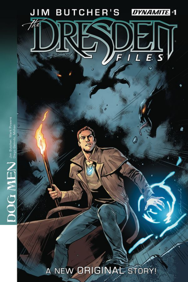 The Dresden Files: Dog Men #1 (Galindo Cover)