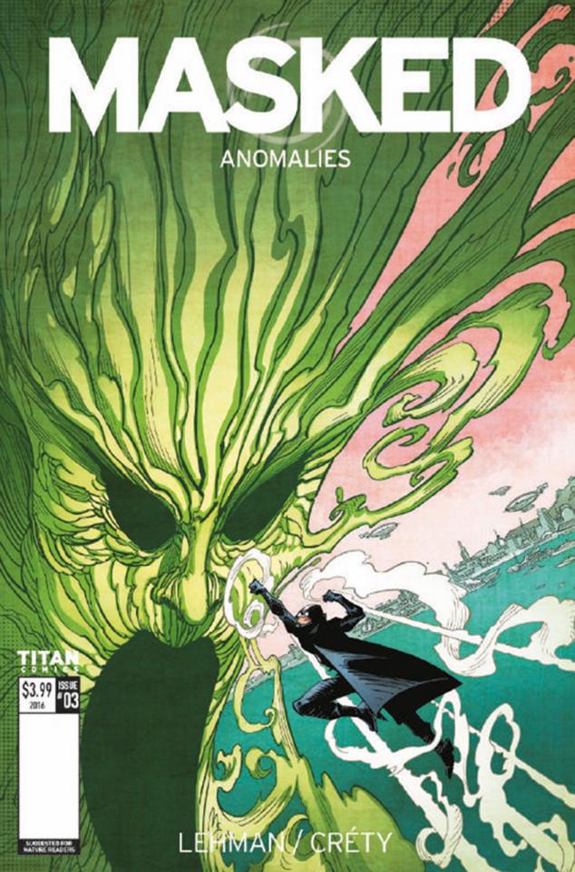 Masked #3 (McCrea Cover)