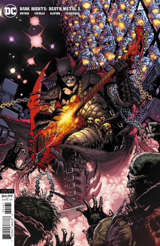 Dark Nights: Death Metal #1 (1 in 25 Doug Mahnke Cover)