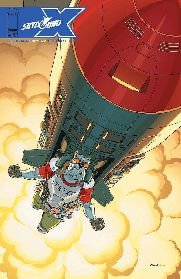 Skybound X #3 (Walker Cover)
