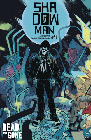 Shadowman #4 (20 Copy Lafuente Cover)