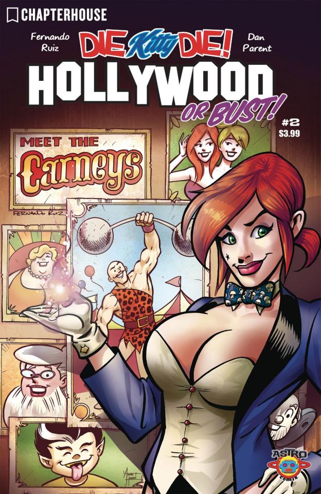 Die Kitty Die! Hollywood or Bust #2 (Ruiz Cover)