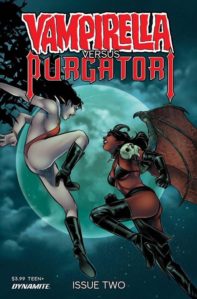 Vampirella vs. Purgatori #2 (Premium Sarraseca Cover)