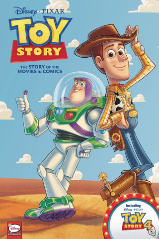 Toy Story: The Story of the Movies in Comics