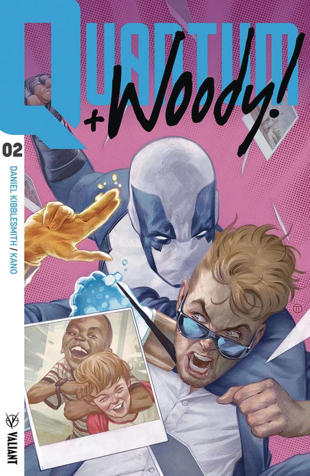 Quantum & Woody #2 (Tedesco Cover)