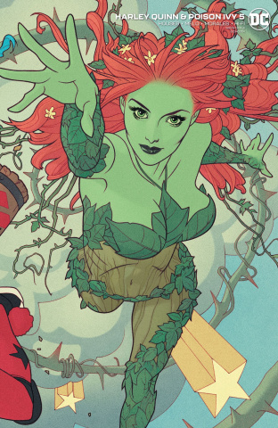 Harley Quinn & Poison Ivy #5 (Card Stock Poison Ivy Cover)