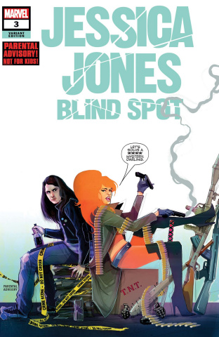 Jessica Jones: Blind Spot #3 (Simmonds Cover)