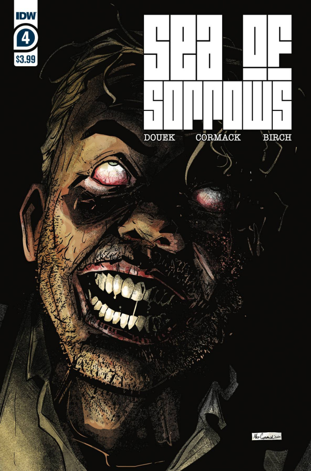 Sea of Sorrows #4 (Cormack Cover)