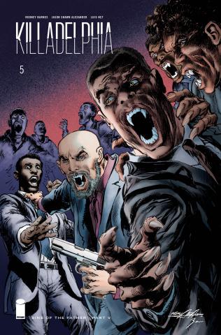 Killadelphia #5 (Adams Cover)