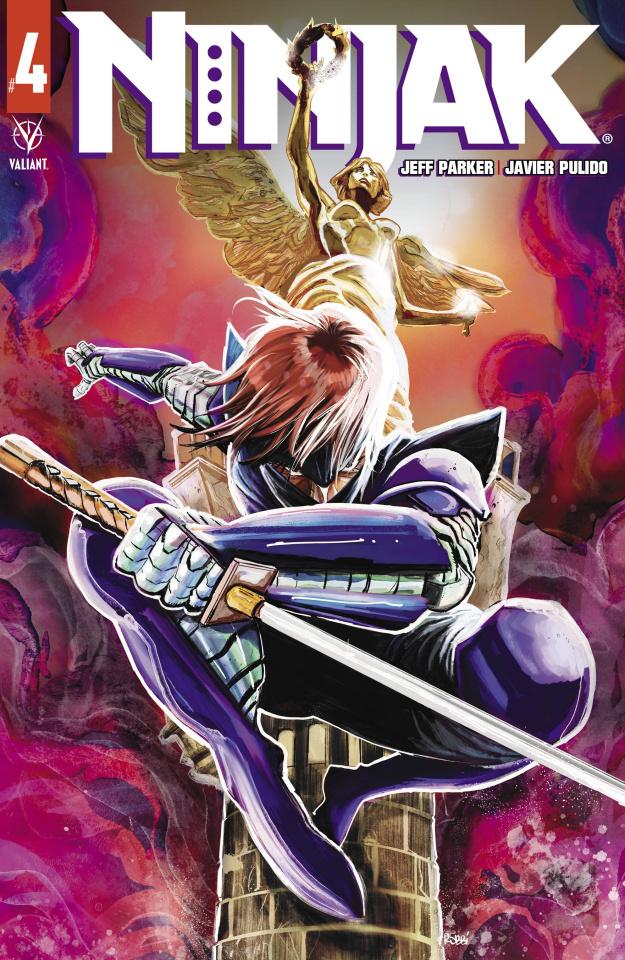 Ninjak #4 (Rodriguez Cover)