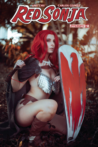 Red Sonja #13 Cosplay Cover)