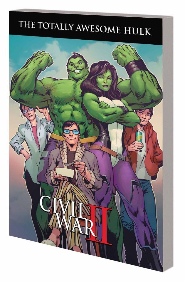Totally Awesome Hulk Vol. 2: Civil War II