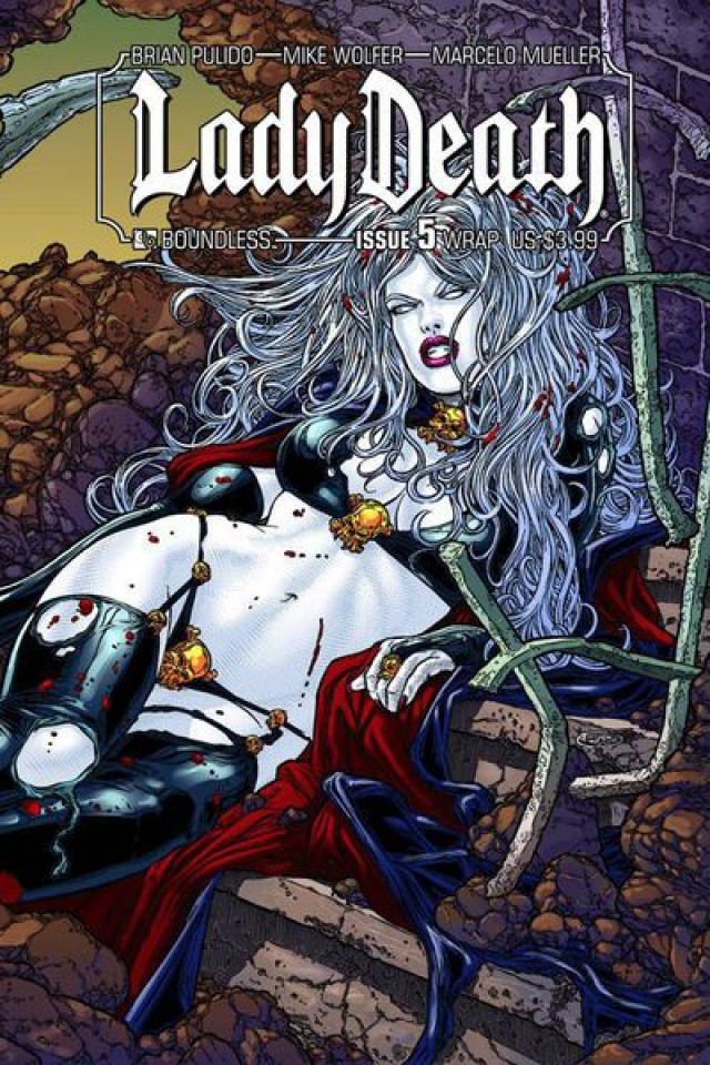 Lady Death #5 (Wrap Cover)
