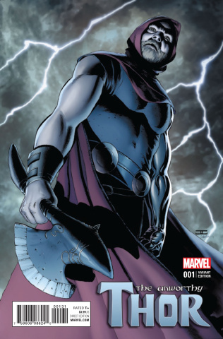 The Unworthy Thor #1 (Cassaday Cover)