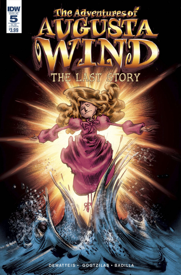 The Adventures of Augusta Wind: The Last Story #5 (Subscription Cover)